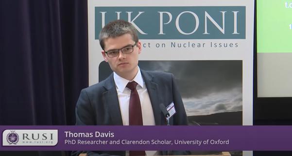 RUSI UK PONI 2019 Talk Thomas Davis