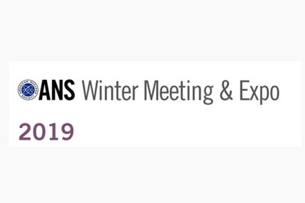 ANS Winter Meeting 2019