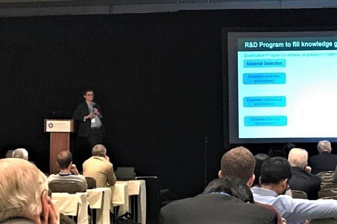 Thomas Davis presents at ICFRM-19