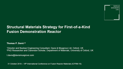 Structural materials strategy for first-of-a-kind fusion demonstration reactor