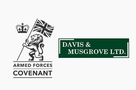 Armed Forces Covenant Davis & Musgrove Ltd