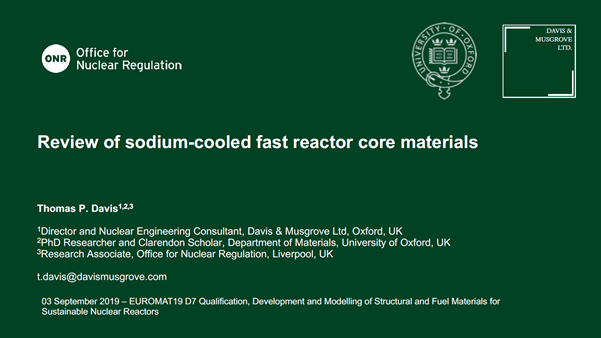 Review of sodium-cooled fast reactor core materials